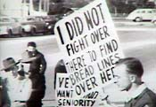 Soldier on the Picket Line - Picture