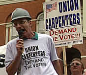 Mike Cramer, Local 33, United Brotherhood of Carpenters & Joiners